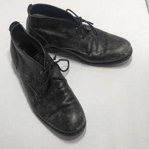 Frye Shoes - Frye black distressed men's size 9 boots